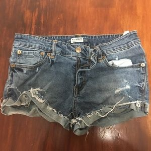 Pull & Bear Distressed Shorts